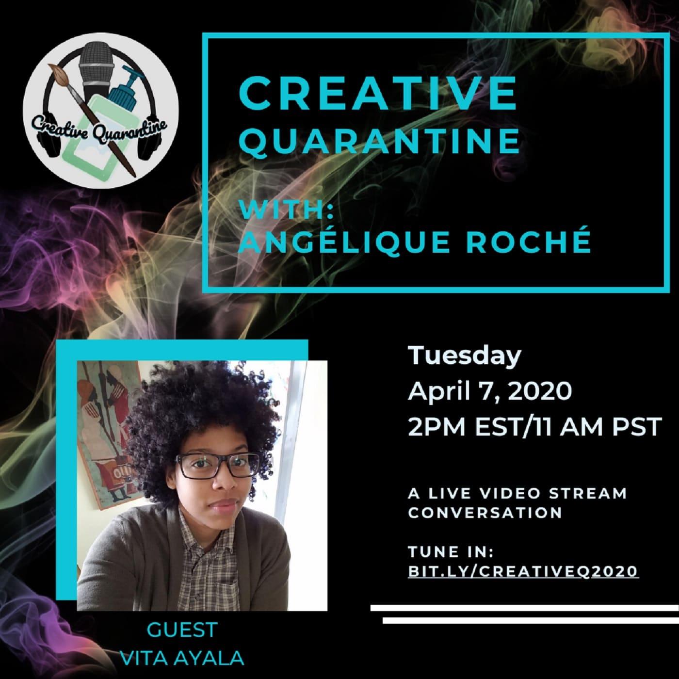 Creative Quarantine - Episode 12: Writer, Vita Ayala