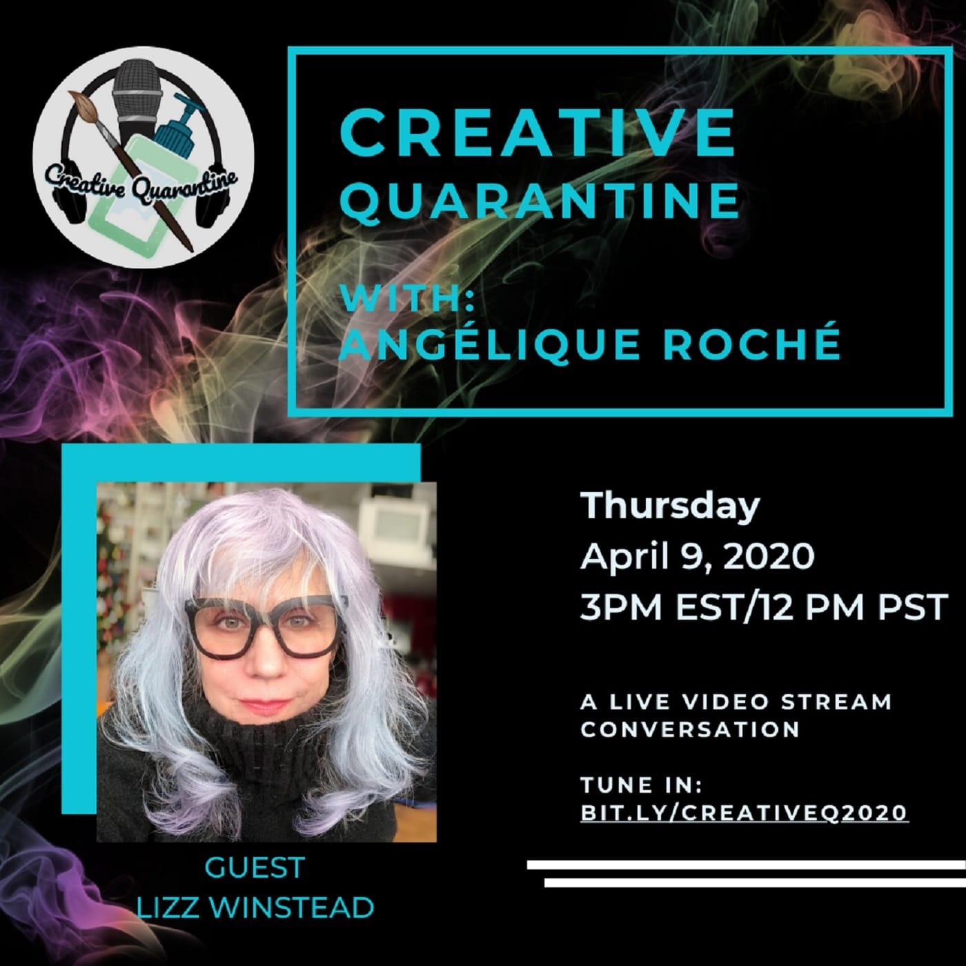 Creative Quarantine - Episode 14: Writer/Producer/Activist, Lizz Winstead