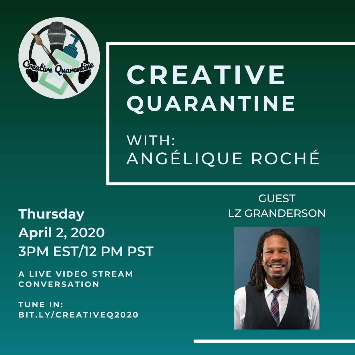 Creative Quarantine - Episode 9: Host/Sport Journalist LZ Granderson