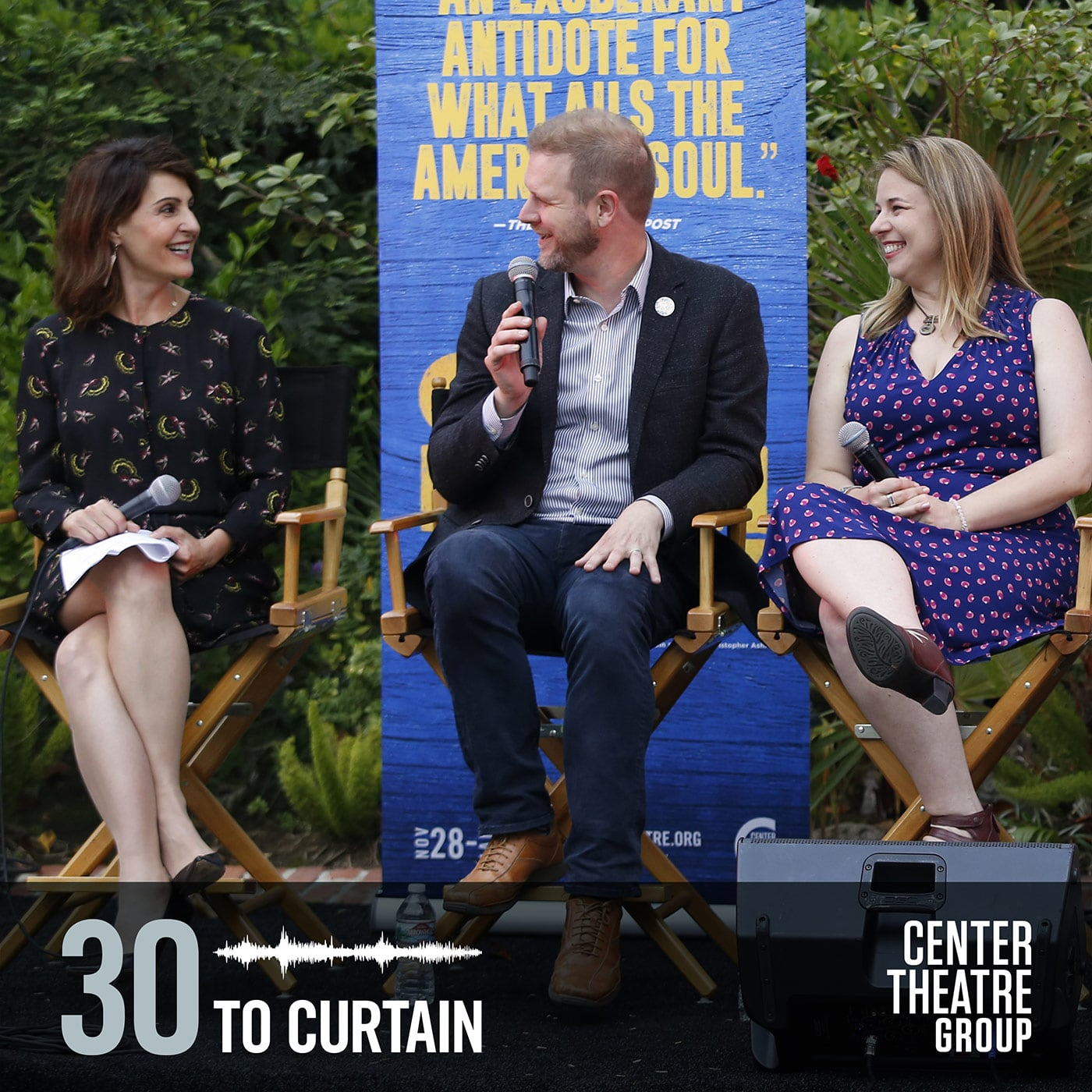 30 to Curtain Guest Come From Away live