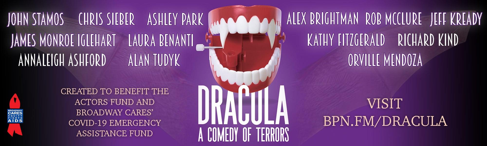 Dracula banner - full cast