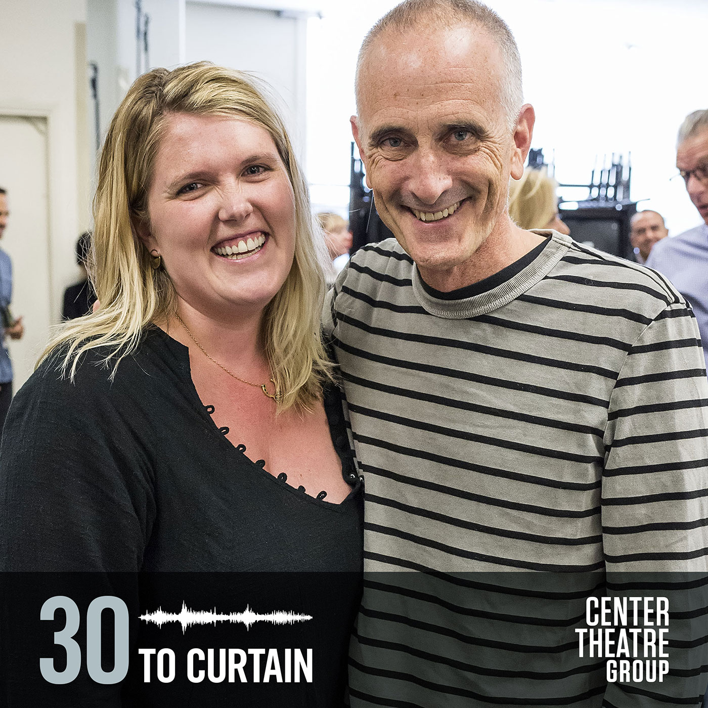 30 to Curtain Guest Eliza Clark