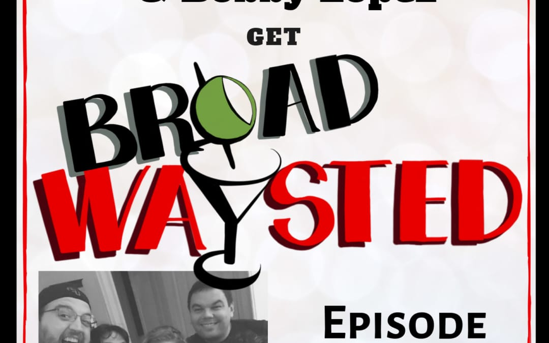 Episode 79: Kristen Anderson-Lopez and Bobby Lopez get Broadwaysted!