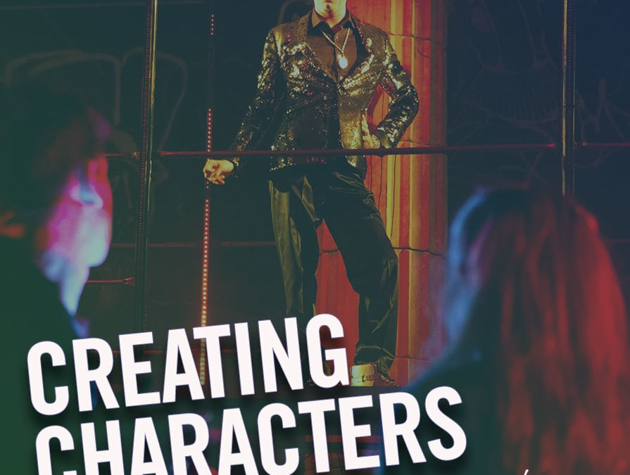 #203 – Creating Characters (feat. Ryan Knowles)
