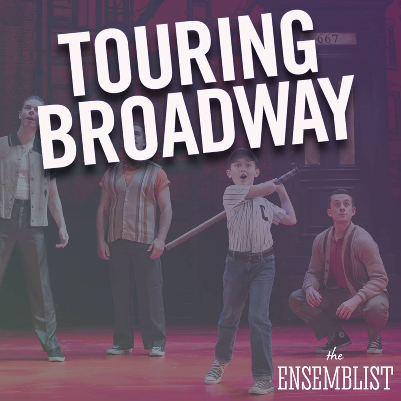 The Ensemblist hosted by Mo Brady Episode 213 Touring Broadway Josh Barrage