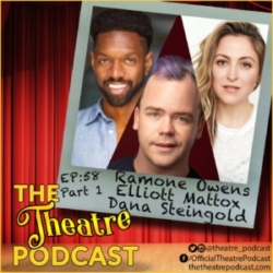 The Theatre Podcast Ep58 Elliot Mattox, Dana Ramone, Dana Steingold Part1