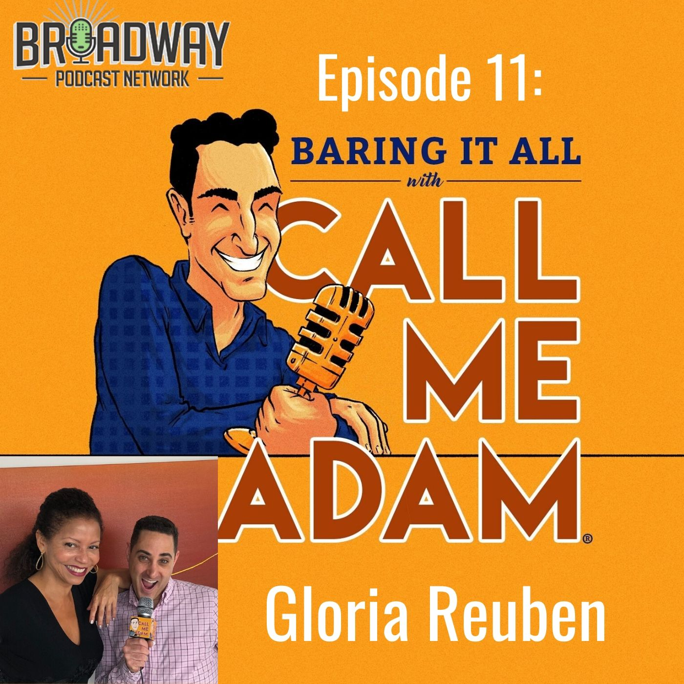 Baring It All With Call Me Adam Ep 11 Gloria Reuben