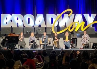 BroadwayCon 2020 Beetlejuice Spotlight Alex Brightman, Leslie Kritzer
