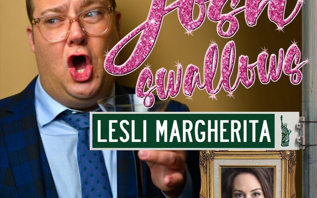 Ep16 – Lesli Margherita, the grand-poobah of all theatre