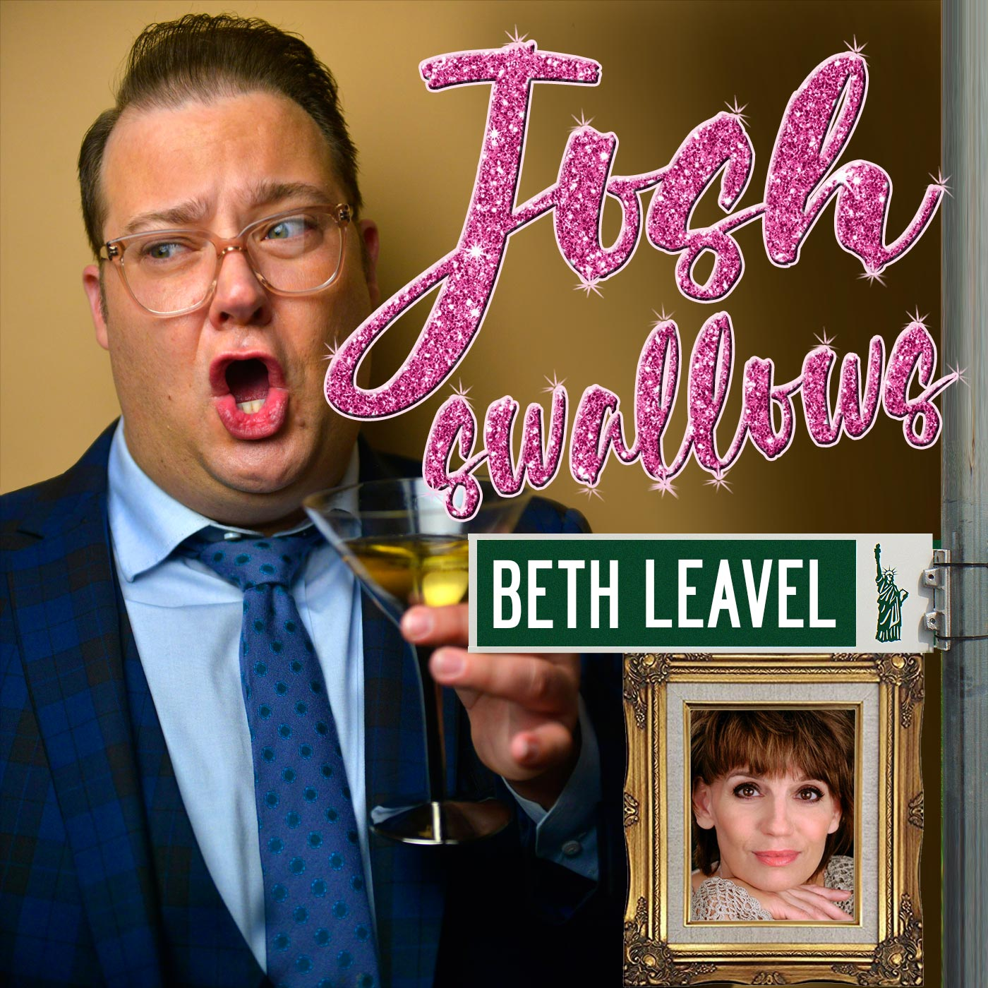 Josh Swallows Broadway Ep24 - Beth Leavel, it's roaches! Welcome to New York!