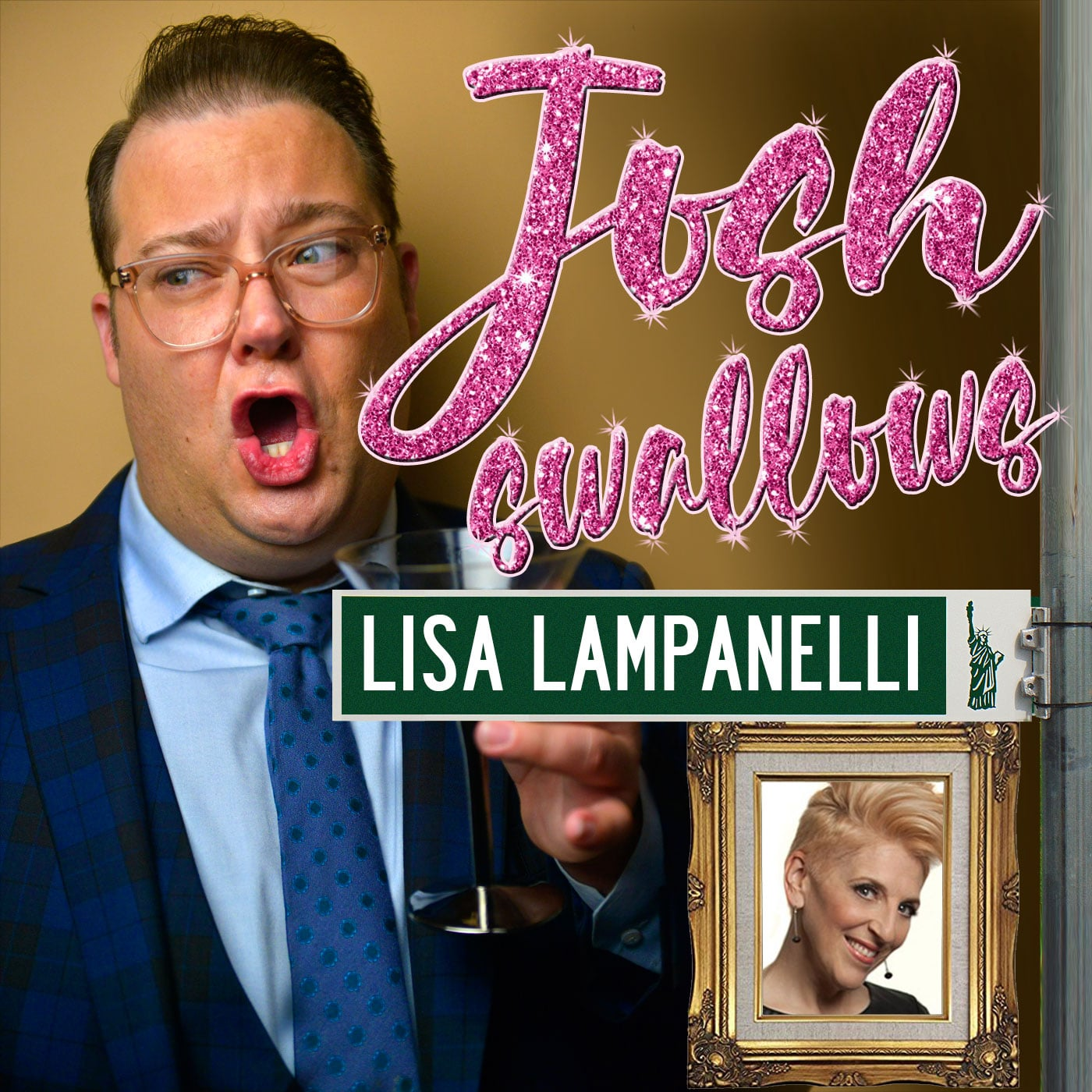 Josh Swallows Broadway with Josh Lamon and Lisa Lampanelli