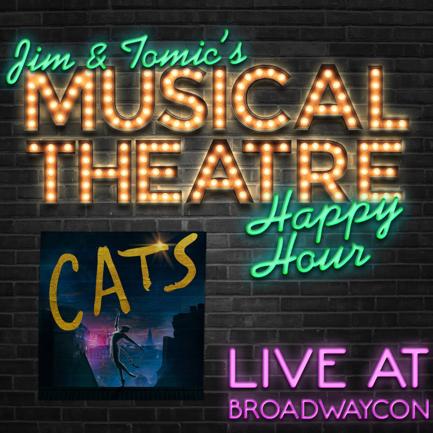 Jim & Tomic Live at BroadwayCon 2020 featuring CATS