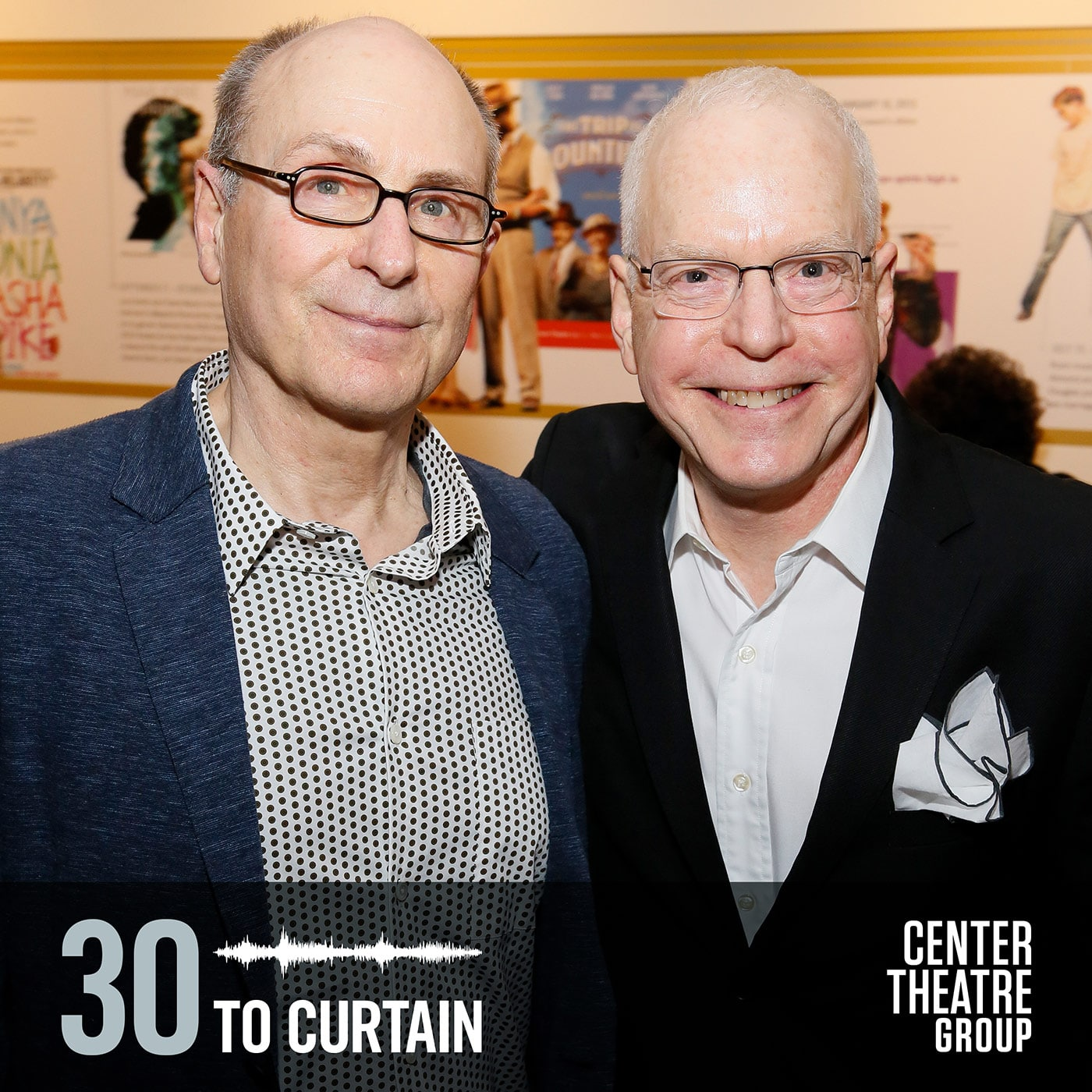 30 to Curtain Guest James Lapine
