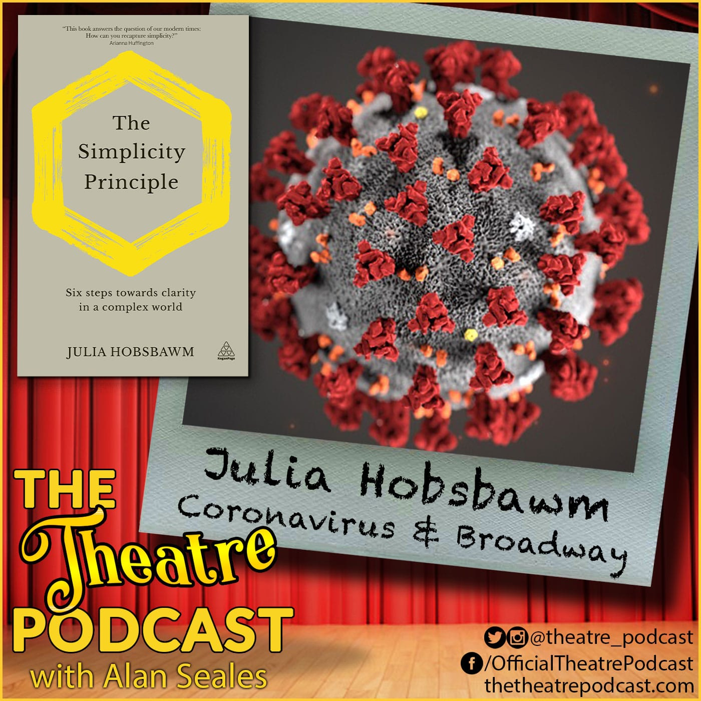The Theatre Podcast - Coronavirus & Broadway Bonus Episode: Julie Hobsbawm, social health expert, author, and entrepreneur