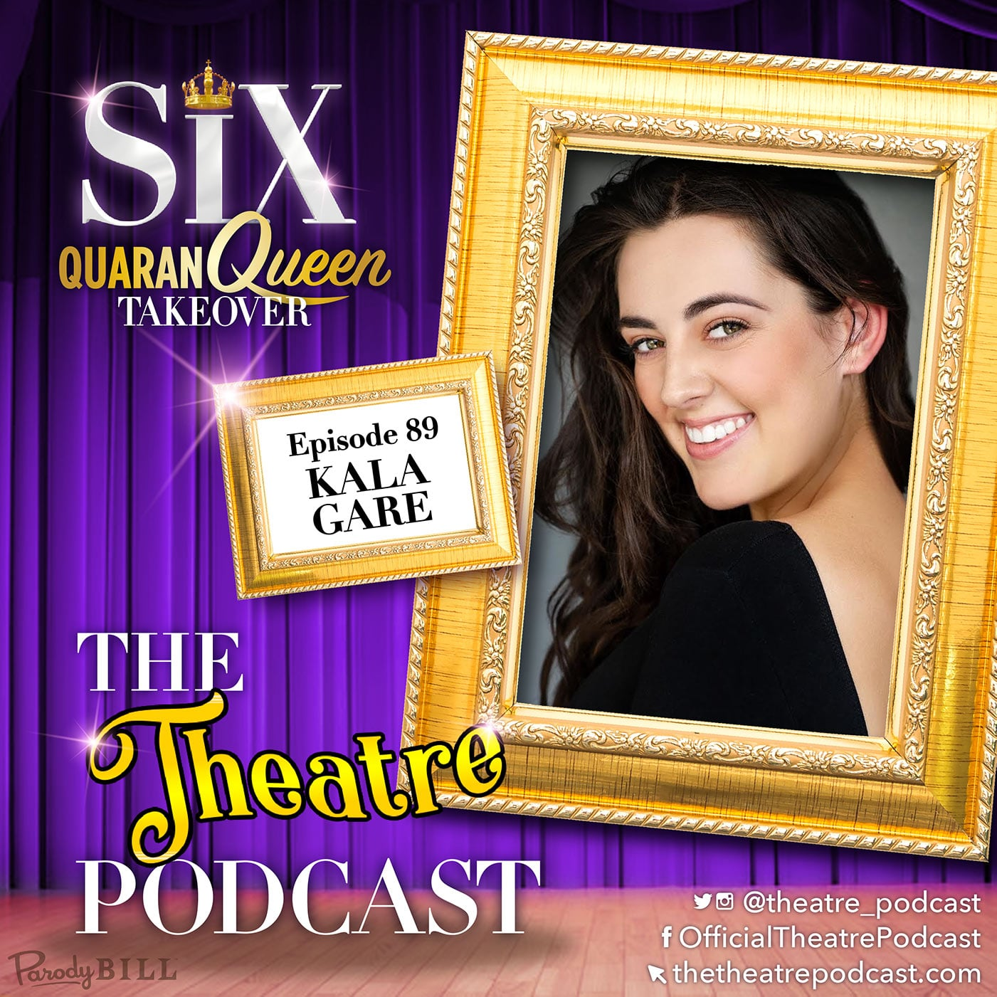 The Theatre Podcast with Alan Seales Ep89 - Kala Gare, Anne Boleyn in SIX the Musical (Australian cast)