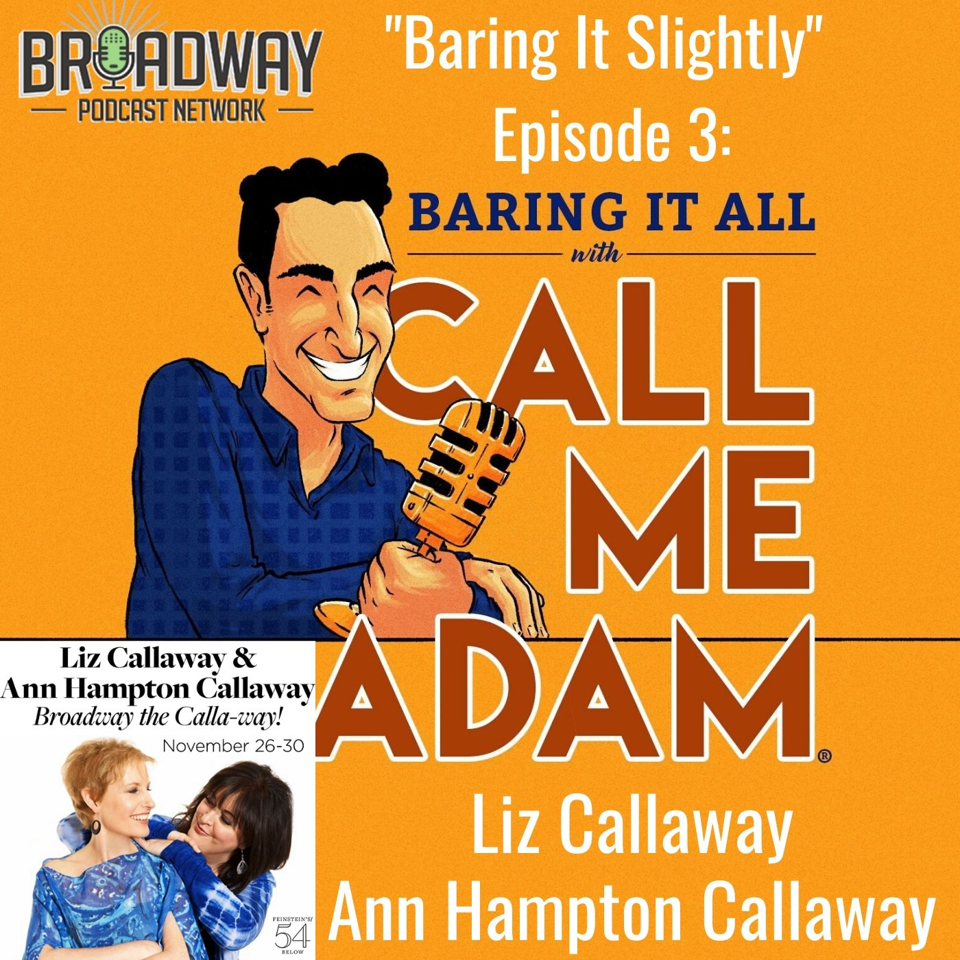 Baring It All With Call Me Adam Baring It Slighty Ep 3 Liz and Ann Hampton Callaway