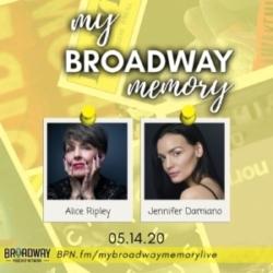 My Broadway Memory 03 - Alice Ripley & Jennifer Damiano