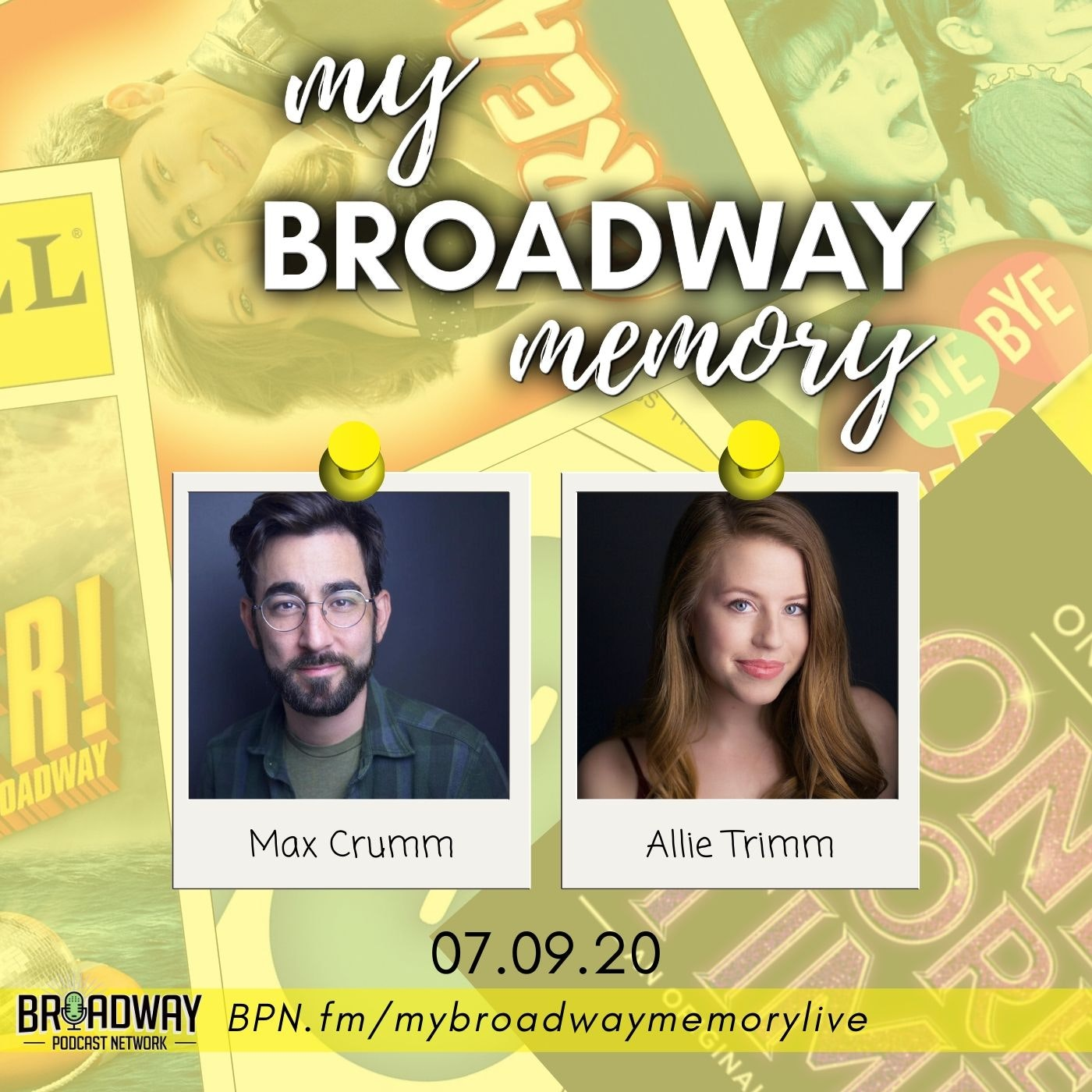 My Broadway Memory 09 - Max Crumm & Allie Trimm