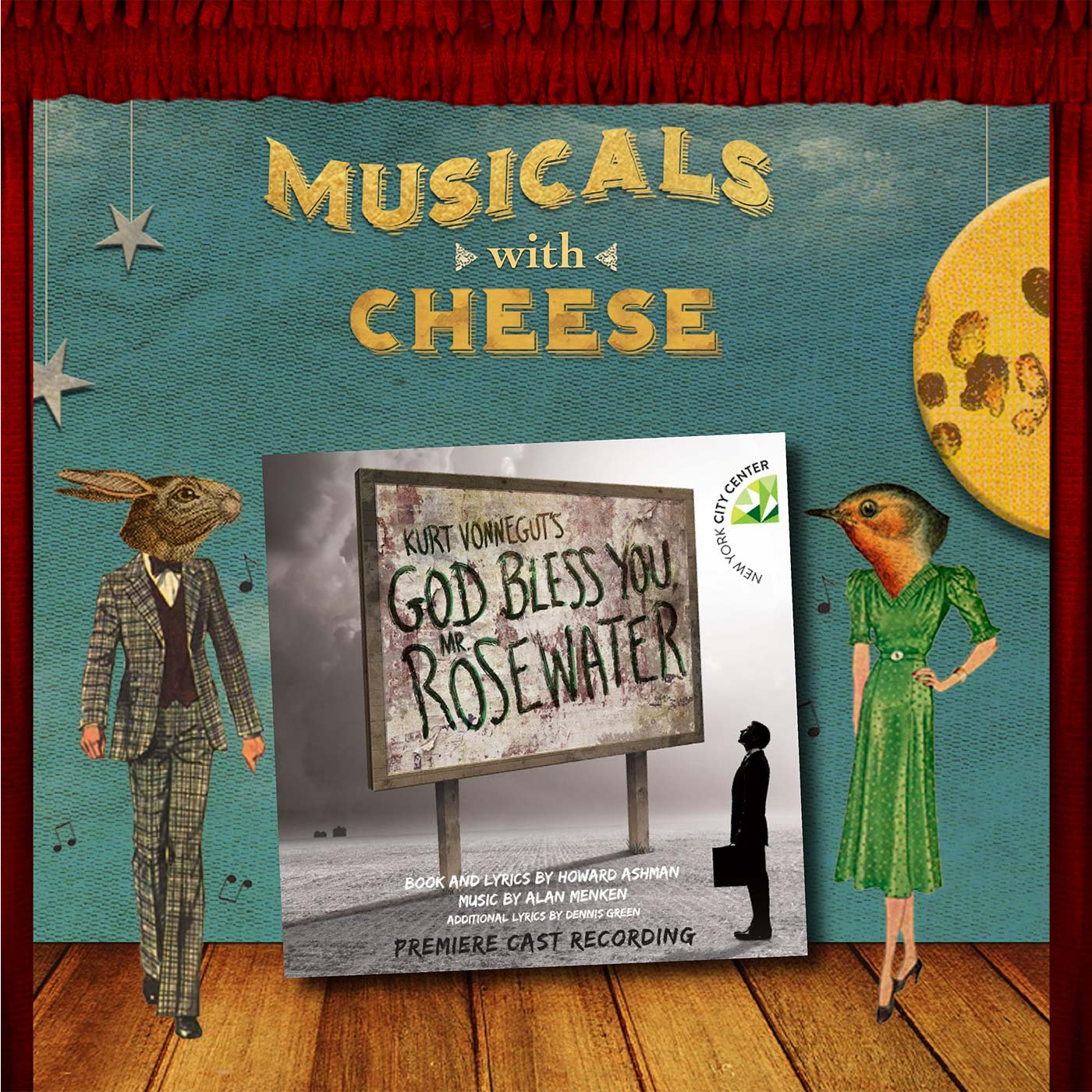 "Musicals with Cheese #81: ""God Bless You Mr. Rosewater"" (feat. Sideways)"