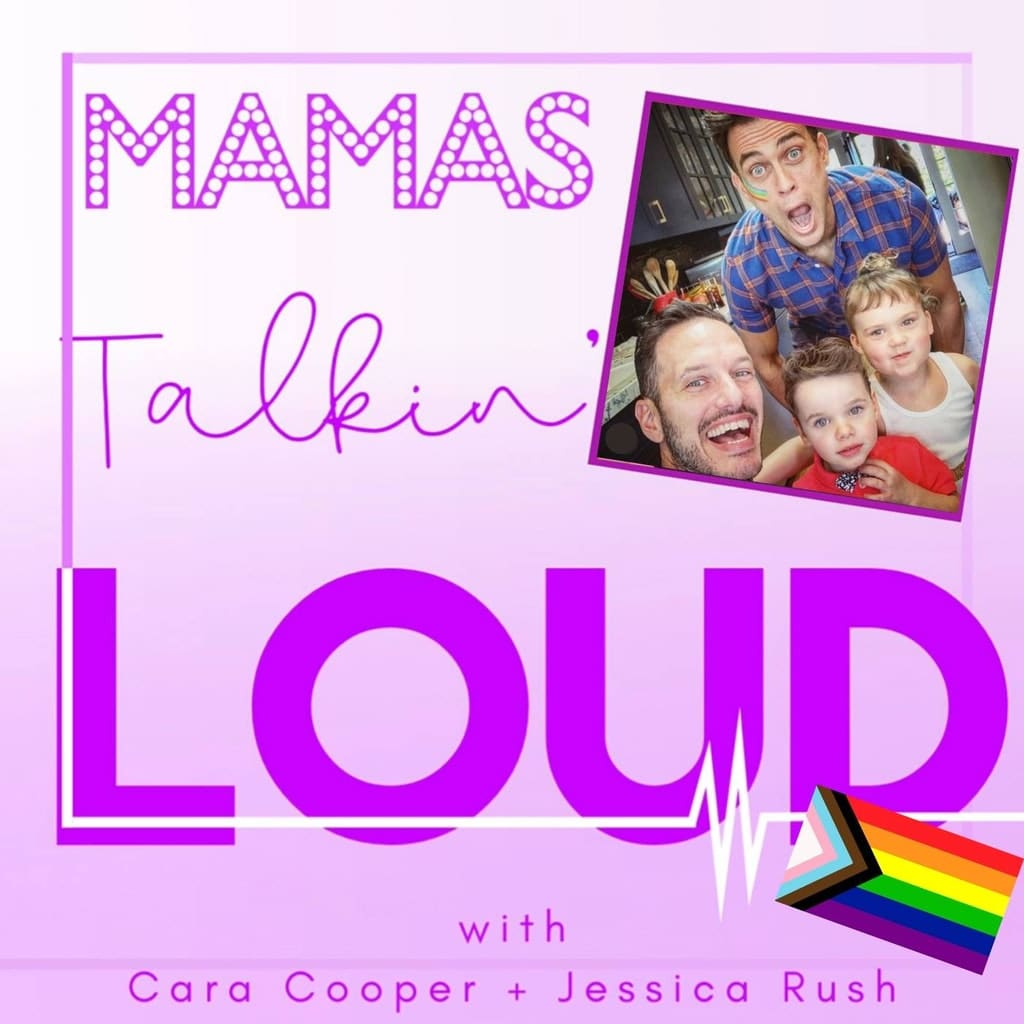 Mama's Talkin' Loud - #31 - Cheyenne Jackson and Jason Landau, Conscious Love