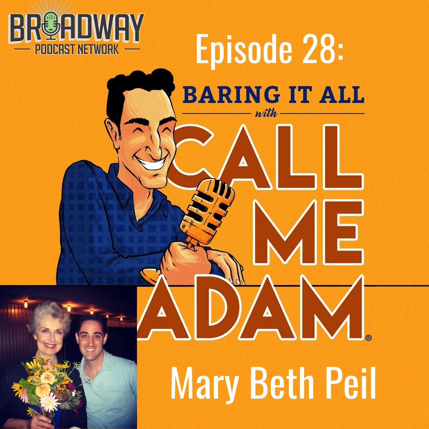 Baring It All With Call Me Adam Ep 28 Mary Beth Peil