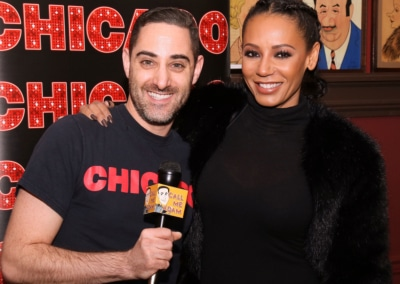 Adam Rothenberg and Mel B