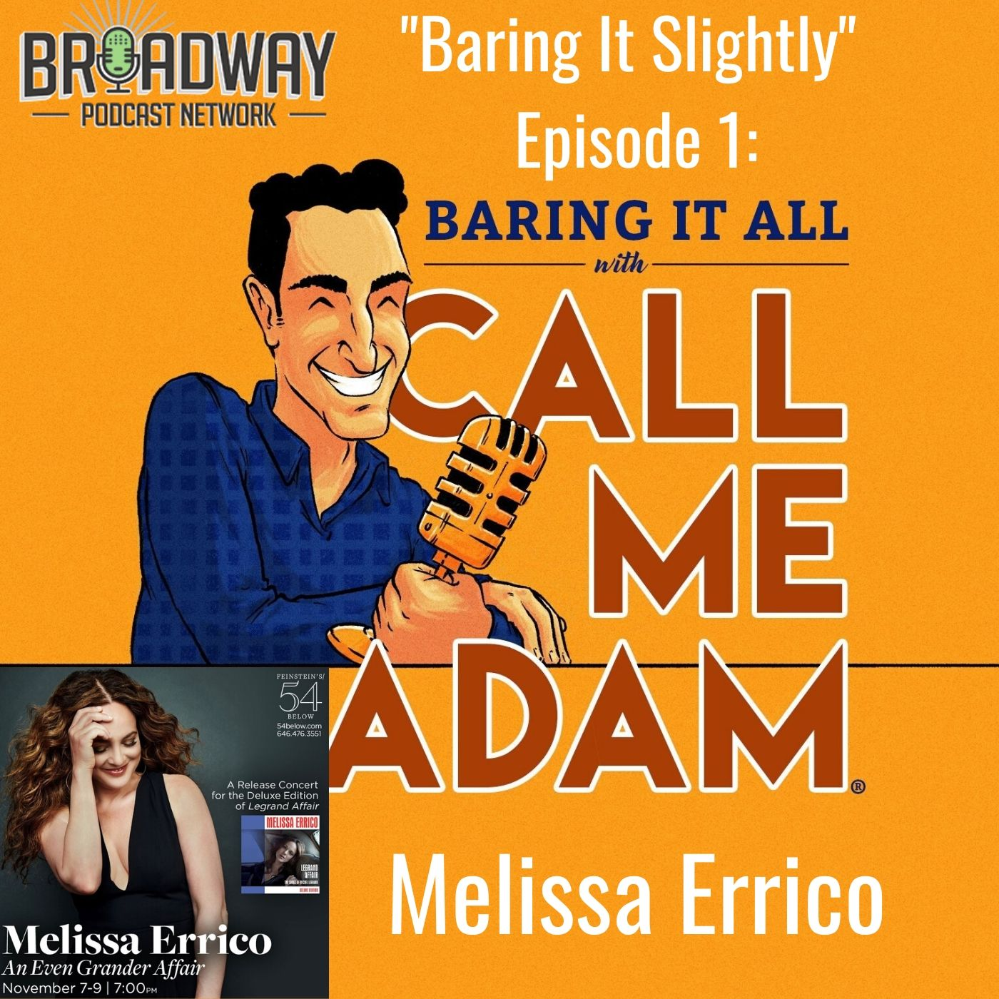 Baring It All With Call Me Adam Baring It Slighty Ep 1 Melissa Errico
