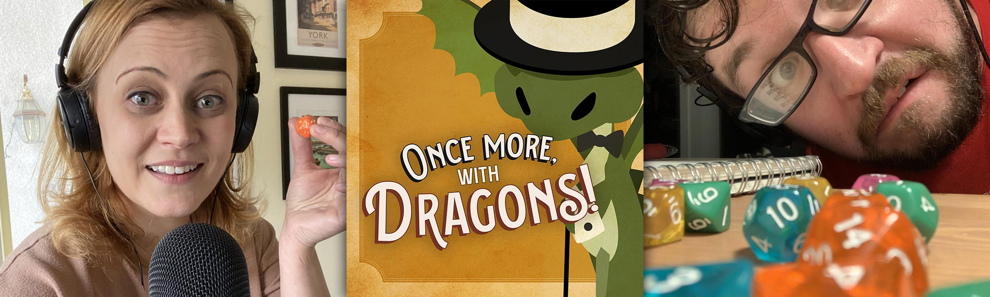 One More With Dragons Podcast Page