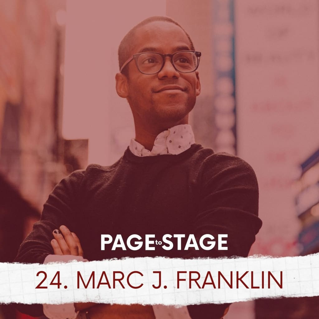 Page to Stage with Mary Dina - 24 - Marc J. Franklin, Photographer