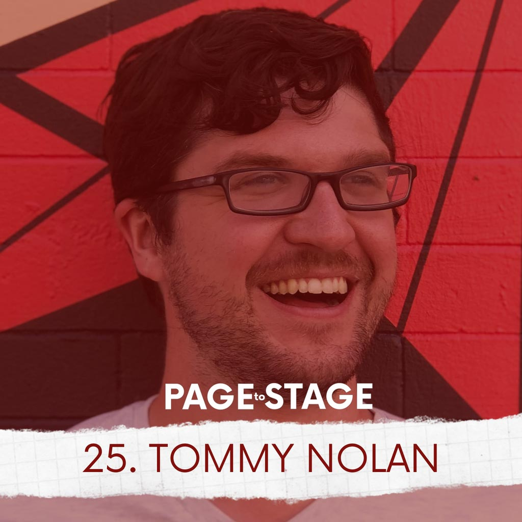 Page to Stage with Mary Dina - 25 - Tommy Nolan, Technical Theatre Educator/Internet Personality