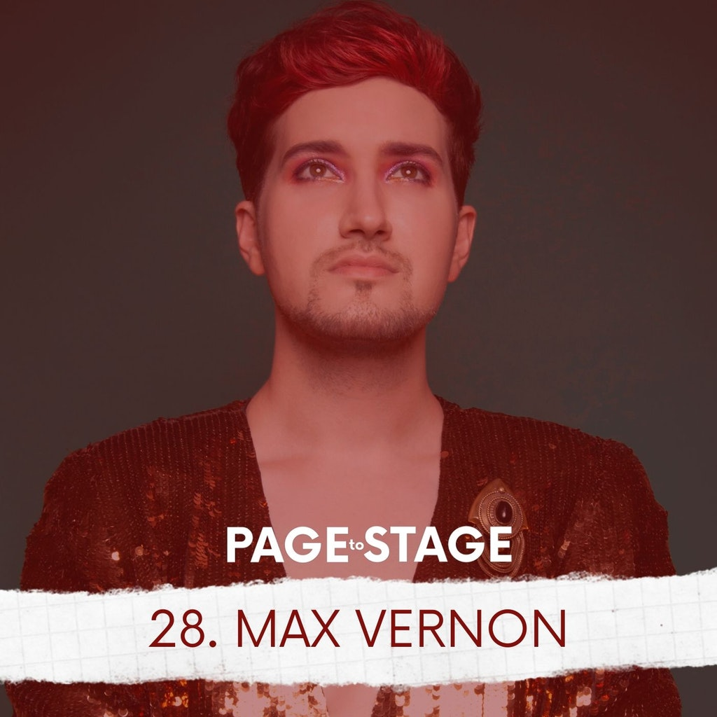 Page to Stage with Mary Dina - 28 - Max Vernon, Composer/Lyricist/Playwright/Performer