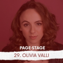 Page to Stage with Mary Dina - 29 - Olivia Valli, Actor/Podcaster