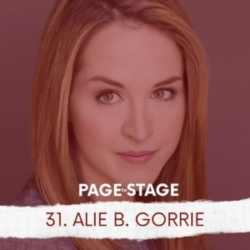 Page to Stage with Mary Dina - 31 - Alie B. Gorrie