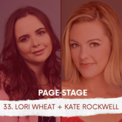 Page to Stage with Mary Dina - 33 - Lori Wheat, Publicist