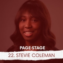 Page To Stage Episode 22 Stevie Coleman