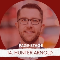 Page To Stage Podcast Episode 14 Guest Hunter Arnold