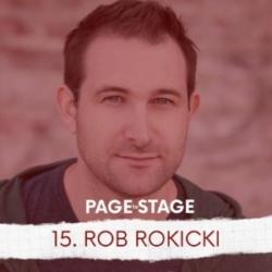 Page To Stage Episode 15 Rob Rokicki