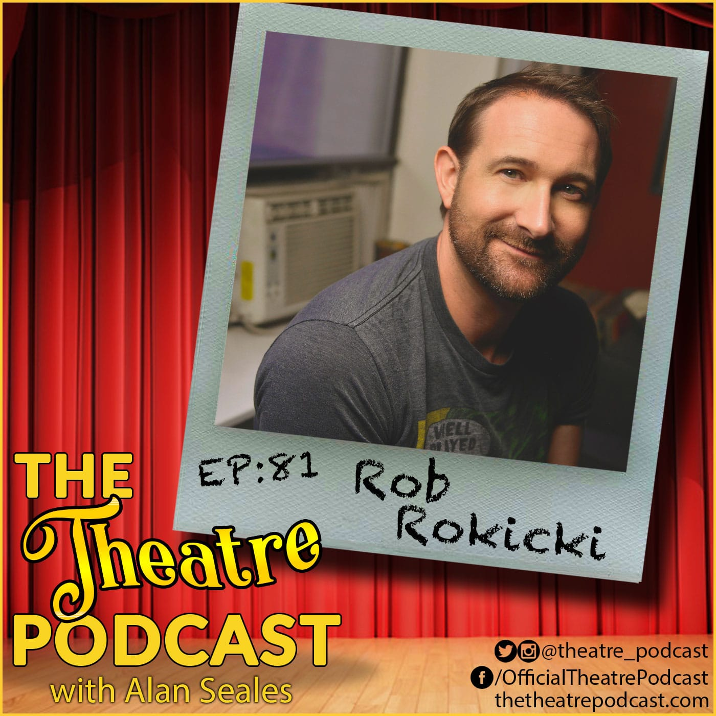 The Theatre Podcast Ep81 - Rob Rokicki, The Lightning Thief: The Percy Jackson Musical