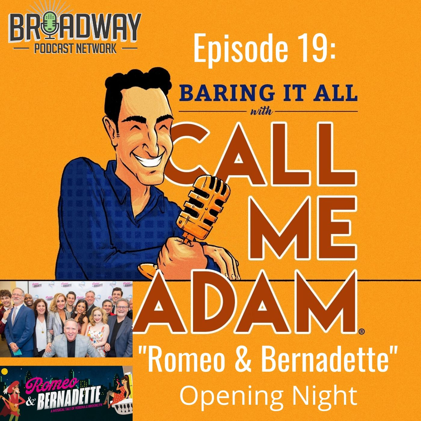 Baring It All With Call Me Adam Ep 19 Romeo & Bernadette