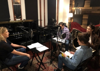 STUCK Podcast Recording Session