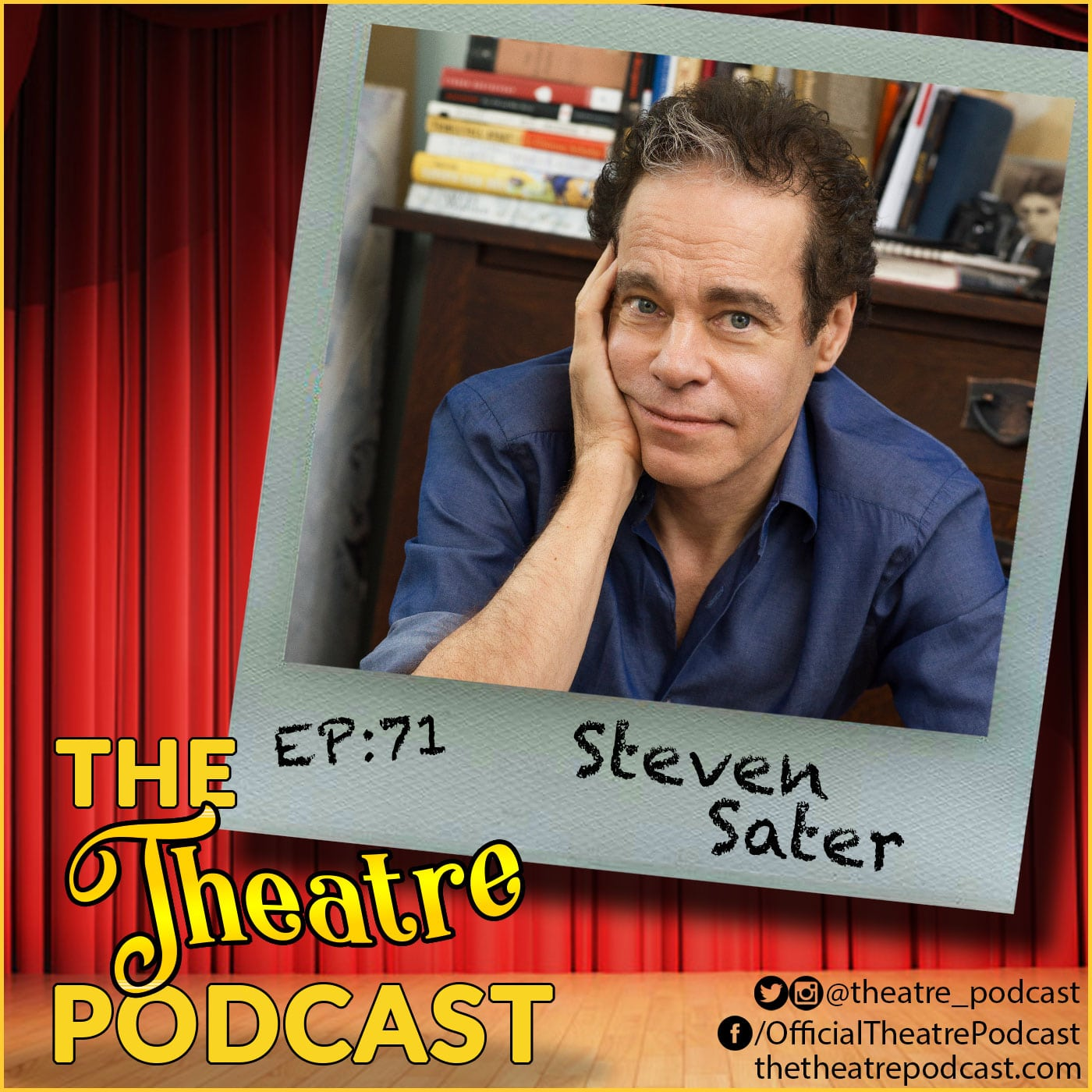 The Theater Podcast Ep71 - Steven Sater, Tony and Olivia Award winning poet, playwright, lyricist, television writer and screenwriter