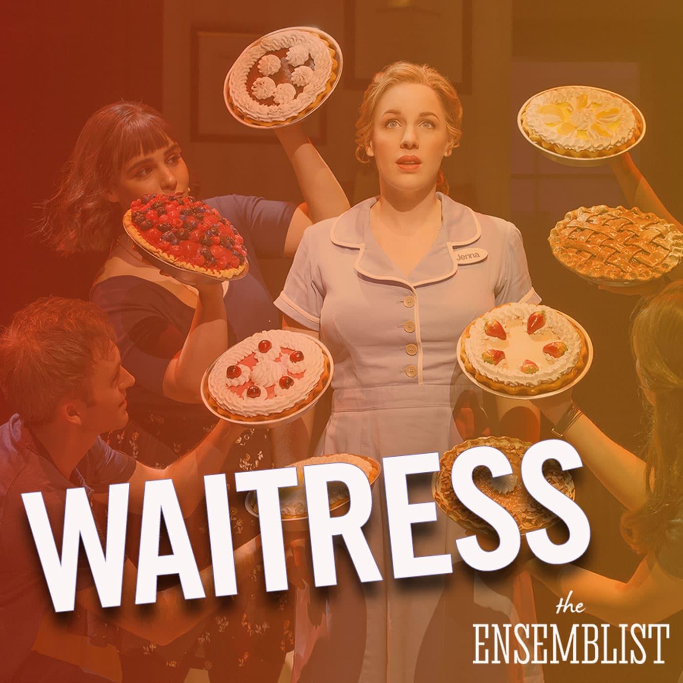 The Ensemblist Episode 219 Waitress Shoshana Bean, Molly Hager, Todrick Hall and Jessie Hooker-Bailey