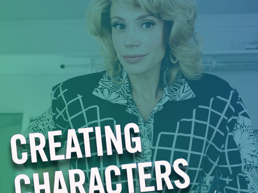 #222 – Creating Characters (feat. Jessica Rush)