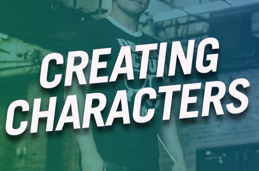#297 – Creating Characters (feat. Jon Hoche)