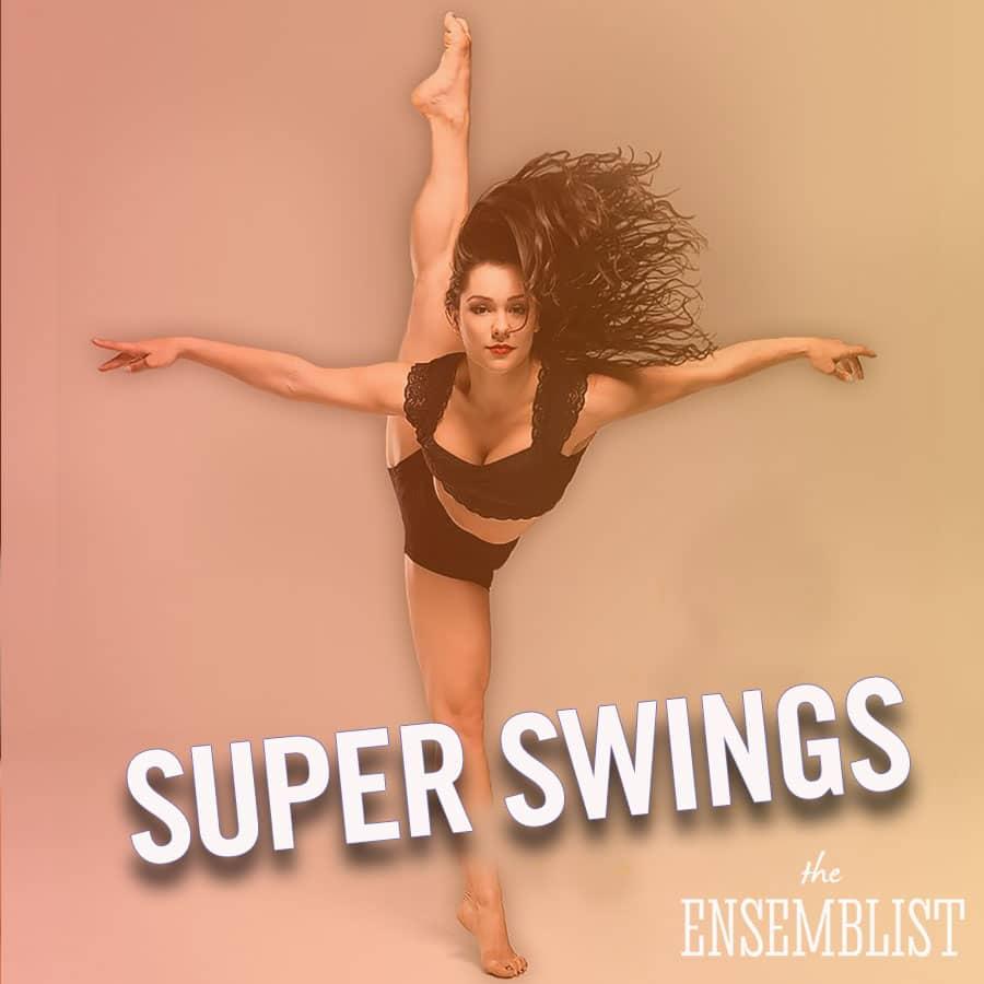 The Ensemblist Mo Brady Episode 229 Super Swings guest Karli Dinardo