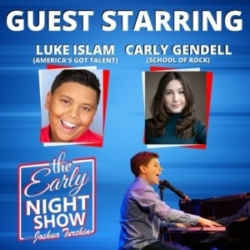 The Early Night Show Episode 1 - Luke Islam and Carly Gendell