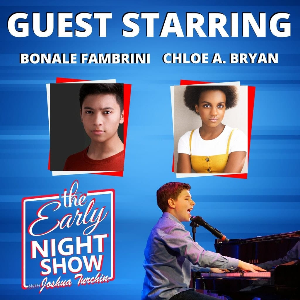 The Early Night Show Season 1 Episode 2 – Chloe Bryan and Bonale Fambrini
