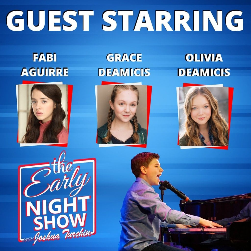 The Early Night Show Season 1 Episode 3 – Fabi Aguirre, Grace DeAmicis and Olivia DeAmicis