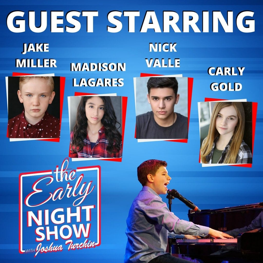 The Early Night Show Season 1 Episode 6 – Carly Gold, Jake Miller, Madison Lagares, Nick Valle