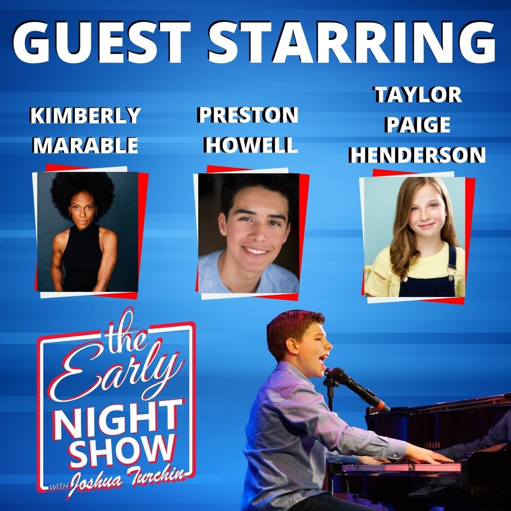 The Early Night Show - S2 Ep9 - Kimberly Marable, Preston C. Howell, Taylor Paige Henderson
